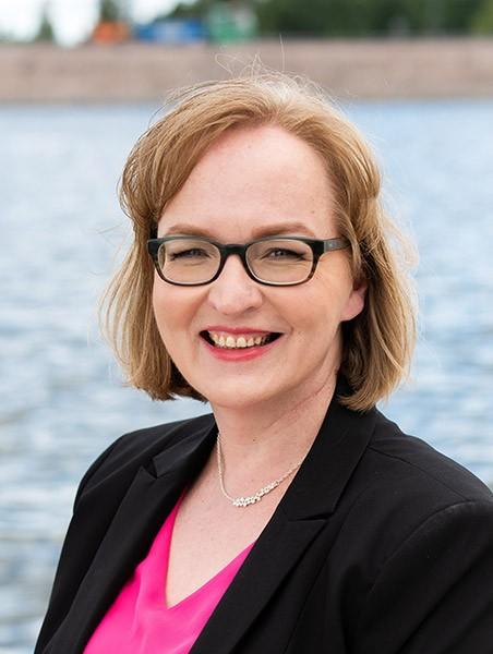 Johanna Kauppinen RKP:n kuntavaaliehdokas